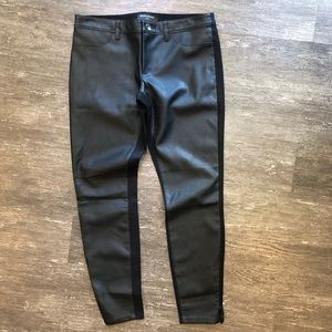 Banana Republic NWOT faux leather front pants